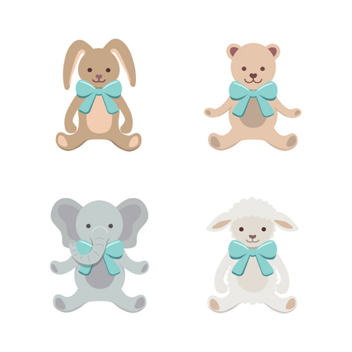 Animal Illustrations for Baby Store